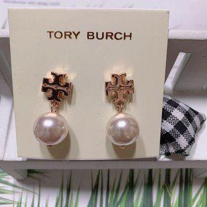 Tory Burch Classic Pearl Earrings